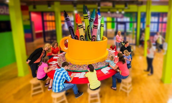 crayola experience from 15 99 easton pa groupon