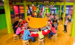 24% Off Crayola Experience Easton Admission at Crayola Experience, plus 6.0% Cash Back from Ebates.