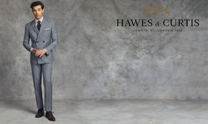 Hawes & Curtis: £20 or £40 to Spend on Menswear Online at Hawes & Curtis (50% Off)