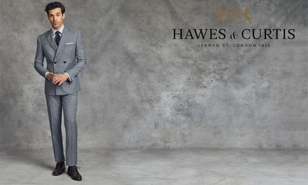 £20 or £40 to Spend on Menswear Online at Hawes & Curtis (50% Off)