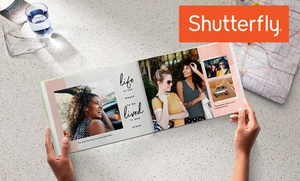 Up to 86% Off Custom Hardcover Photo Book from Shutterfly
