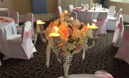 Wedding Package for 50 Day and Up to 240 Evening Guests at Castle Hotel
