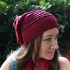 Slouch-Knit Beanie
