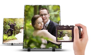Up to 86% Off Custom Slate Photo Prints with Display Easel