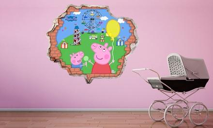Peppa Pig Vinyl Wall Stickers