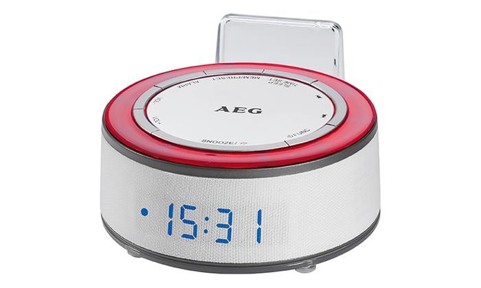 Wekkerradio Met Licht : Wekkerradio met speaker en licht groupon