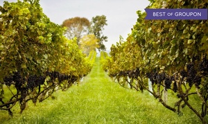 Philip Carter Winery: Vineyard Tour, Souvenir Wine Glasses, and Charcuterie for Two or Four at Philip Carter Winery (Up to 59% Off)