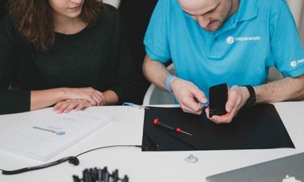 Display-Reparatur für iPhones mit Austausch der Glasfront und des LCD-Displays bei Reparando GmbH (bis zu 30% sparen*)