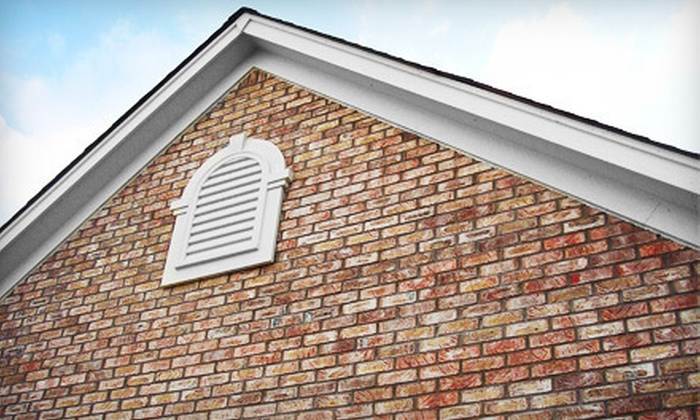 Dynamite Detailing - Knoxville: Pressure Wash of a One- or Two-Story House by Dynamite Detailing (Up to 55% Off)