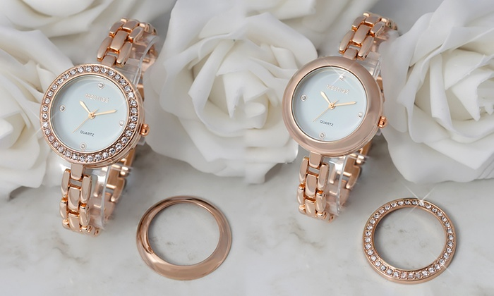 Neverland Sales: Women's Elizabeth Watch Made with Crystals from Swarovski® for €19.99 With Free Delivery (74% Off)