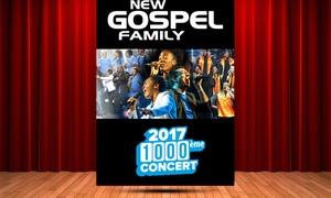 Master Music: 1 place pour le concert New Gospel Family, le dimanche 5 novembre 2017 à 17h à 12 € à l'église Notre-Dame d'Alfortville