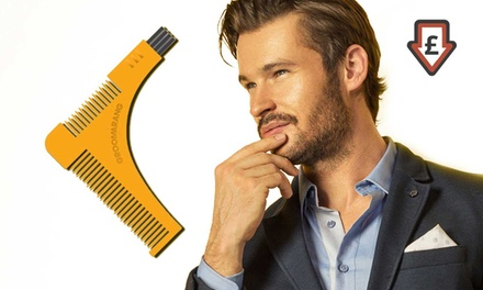 One, Two or Three Groomarang Beard Styling Comb