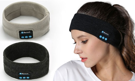 Wireless Sport Stereo Headband with Bluetooth Control Panel: One $16.95 or Two $26.95