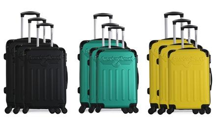Set di 3 valigie Harlem
