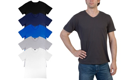 6-Pack of Men's Crew-Neck T-Shirts