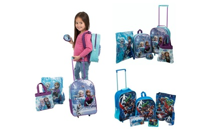 Kids' Character FivePiece Luggage Set for £14.99