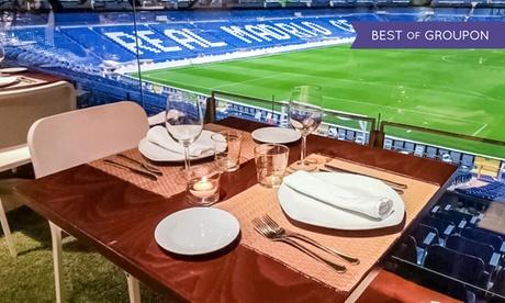 Brunch para dos personas con plato, postre, café, zumo, bebida y pan desde 19 € en Real Café Bernabéu
