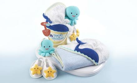 bath towel gift set for babies groupon goods. Black Bedroom Furniture Sets. Home Design Ideas