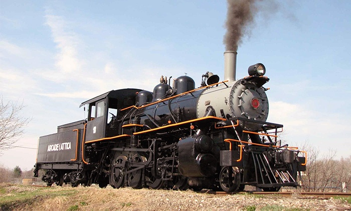 Arcade & Attica Railroad - Arcade: $15 for a Countryside Train Trip for Two from Arcade & Attica Railroad ($30 Value)