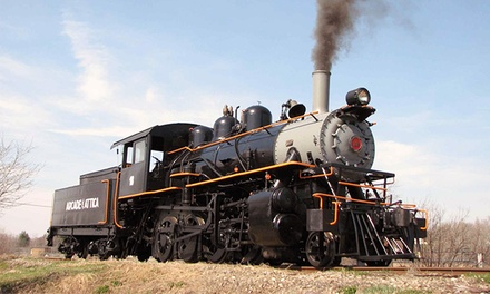 $15 for a Countryside Train Trip for Two from Arcade & Attica Railroad ($30 Value)