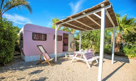 Tarragona: estancia para 4 personas en mobile home en Camping Miramar