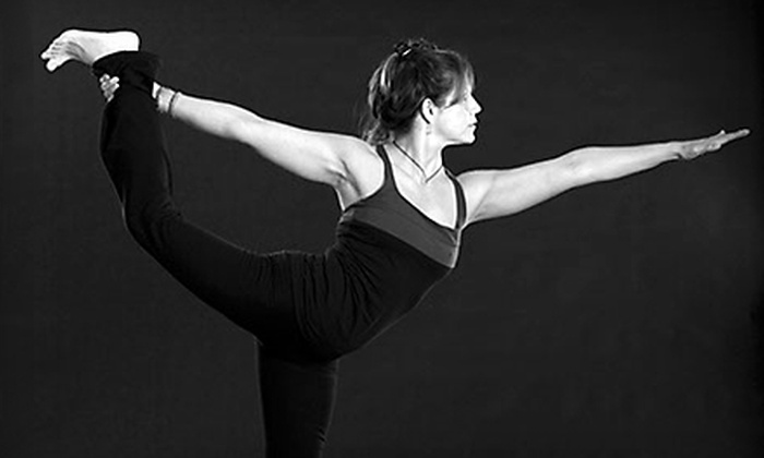 H.Y.P. Studio - Multiple Locations: Hot-Yoga, BarSculpt, Indoor Cycling, TRX, and Pilates Classes at H.Y.P. Studio (Up to 73% Off). Three Options Available.