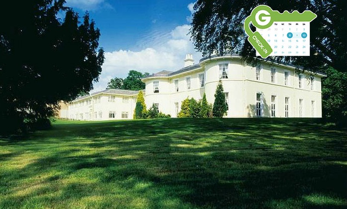 Nottinghamshire: Stay for Two with Breakfast, Meal and Wine at 4* Eastwood Hall