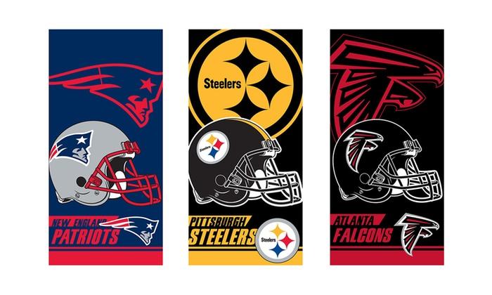 """NFL 30""""x60"""" Cotton Beach Towels"""