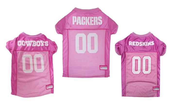 NFL NFC Pink Pet Jersey
