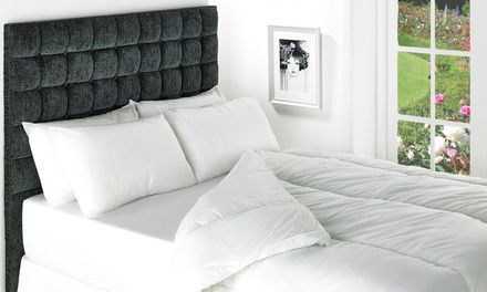 15 Tog Duvet and Two Pillows