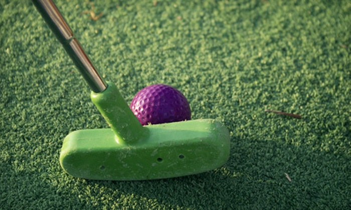 Hawaiian Rumble & Bonanza Golf & Gifts - Multiple Locations: Miniature Golf for Two or Four at Hawaiian Rumble or Bonanza Golf & Gifts (Up to 60% Off)