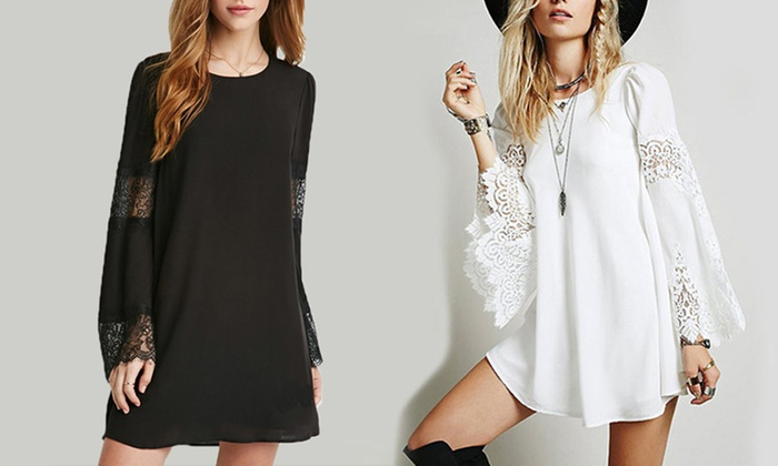 Idc Marketing: Bohemian A-Line Chiffon Dress: One ($19) or Two ($29)