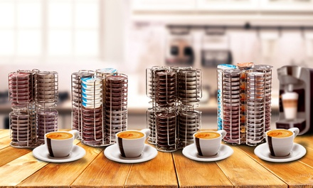 up to 61 off chrome tassimo coffee pods holder groupon. Black Bedroom Furniture Sets. Home Design Ideas