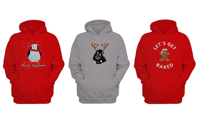 Christmas Hoodies.Men S Christmas Hoodies Groupon Goods