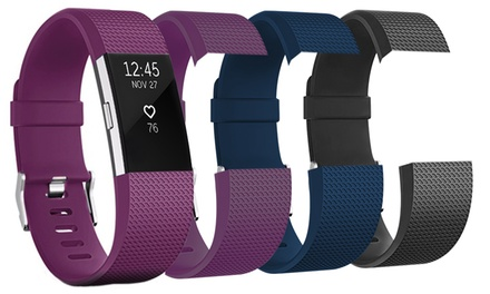 FitBit Charge 2 with Two Bands