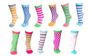 (Mode)  Paires de chaussettes orteils -60% réduction