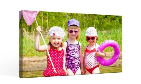 Foto-lienzo paisaje personalizable con tamaño de 20 x 25 cm en Printer Pix (Gastos de envío excluidos)