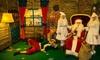 Wizyta w domu Świętego Mikołaja