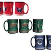 NHL Sculpted-Relief Mugs (2-Pack)