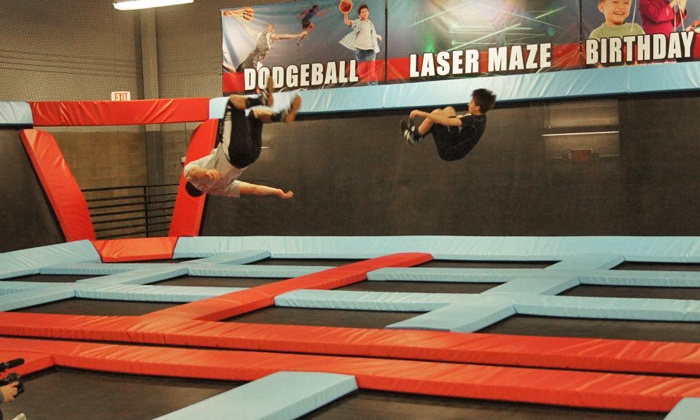 Defy Gravity - La Vista: Two, Four, or Eight Groupons, Each Good for One 60 Minute Jump at Defy Gravity (Up to 52% Off)