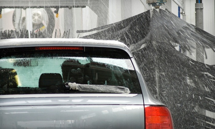Jimmy B's Automotive & Motorcycle Detailing - Fairborn: Two Hand Washes, or One Hand Wash and a Headlight Restoration at Jimmy B's Automotive & Motorcycle Detailing (52% Off)