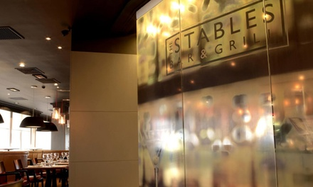 Stables Bar & Grill Restaurant Lounge- Crowne Plaza Chester