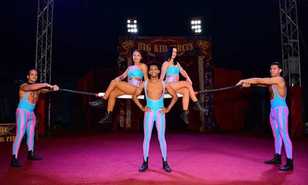 Big Kid Circus, Grandstand Ticket, 5 May 30 June, Eight Locations