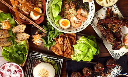 Vietnamese Sharing Menu for Up to Four with Optional Drinks at Pho & Bun, Shaftesbury Avenue