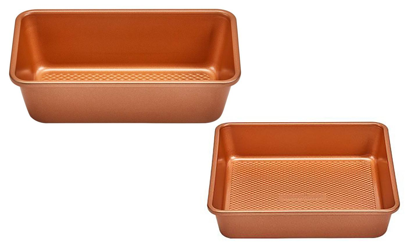 As Seen on TV: Copper Chef Diamond Loaf Pan or Cake Pan