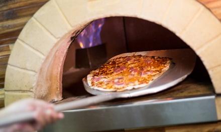 Menú para 2 o 4 con entrante, principal de pasta o pizza, botella de lambrusco y postre desde 24,95 € en Bocca Fina