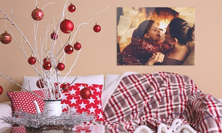 Personalised Aluminium Photo Print in Choice of Size from £13.99