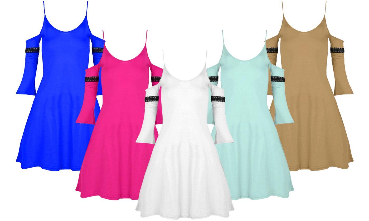 Oops Camisole Swing Mini Dress