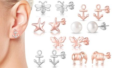 One or Three Pairs of Philip Jones Earrings