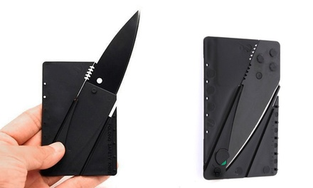 Card-Shaped Foldable Knives from $7.99-$19.99